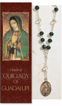 Our Lady of Guadalupe Catholic Prayer Chaplet Sets 3ct by Milagros