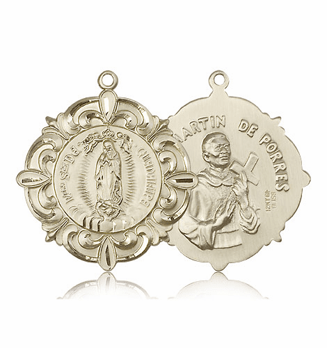 Our Lady of Guadalupe & St. Martin de Porres Medals by Bliss