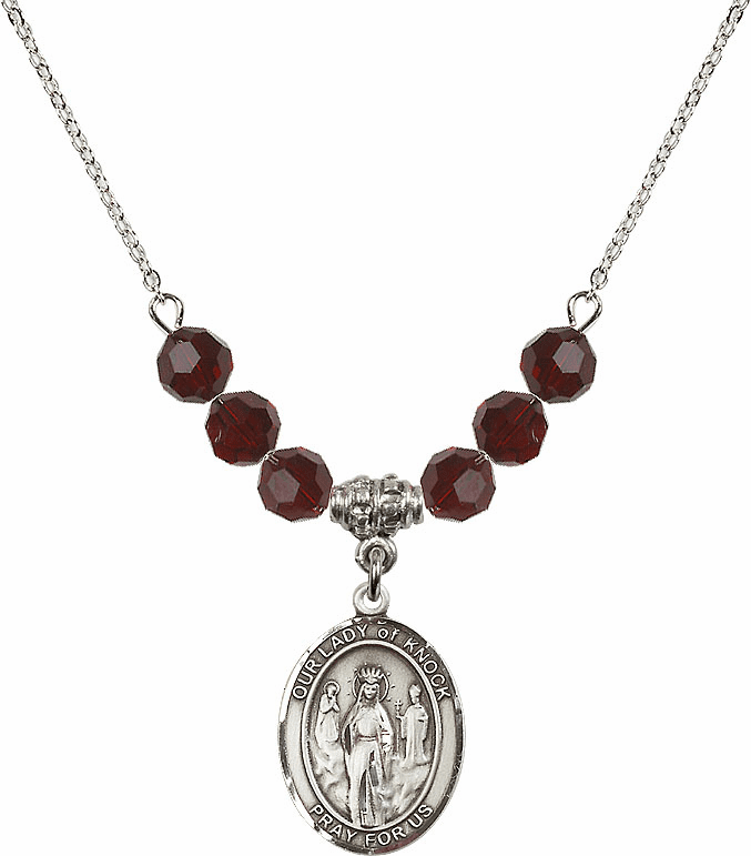 Our Lady of Knock Beaded Necklaces