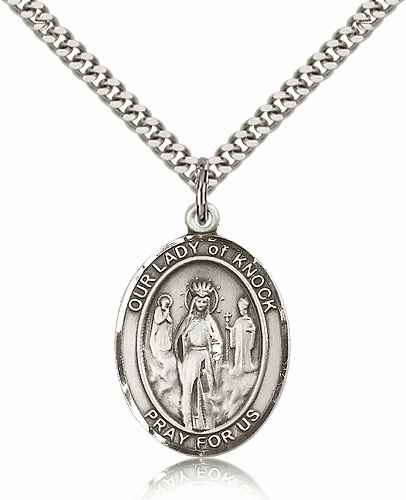 Our Lady of Knock Patron Saint Medal Jewelry