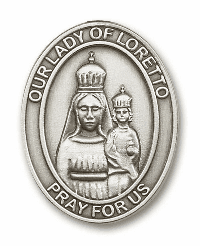 Our Lady of Loretto Car Visor Clips
