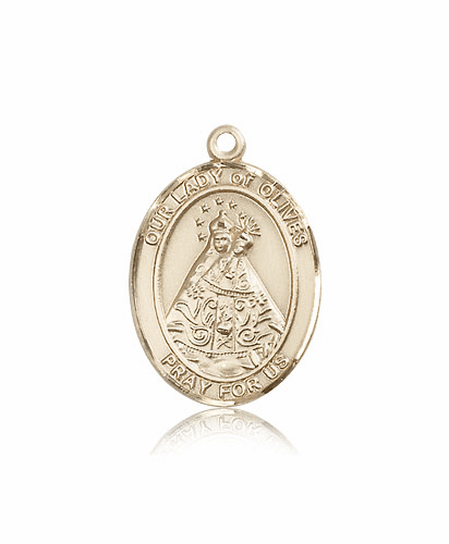 Our Lady of Olives Patron Medal