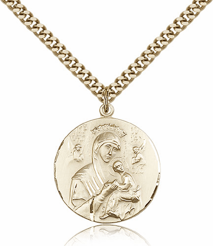 Our Lady of Perpetual Help 14kt Gold-Filled Necklace by Bliss