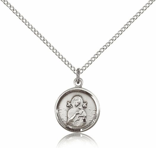 Our Lady of Perpetual Help Sterling Silver Pendant by Bliss