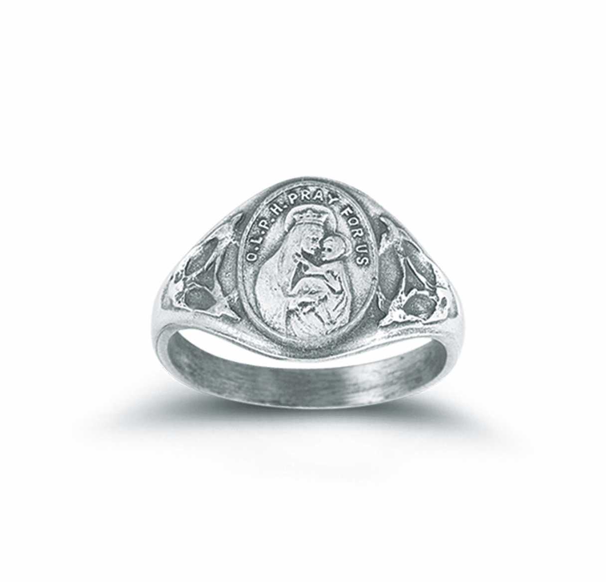 Our Lady of Perpetual Help Sterling Silver Ring