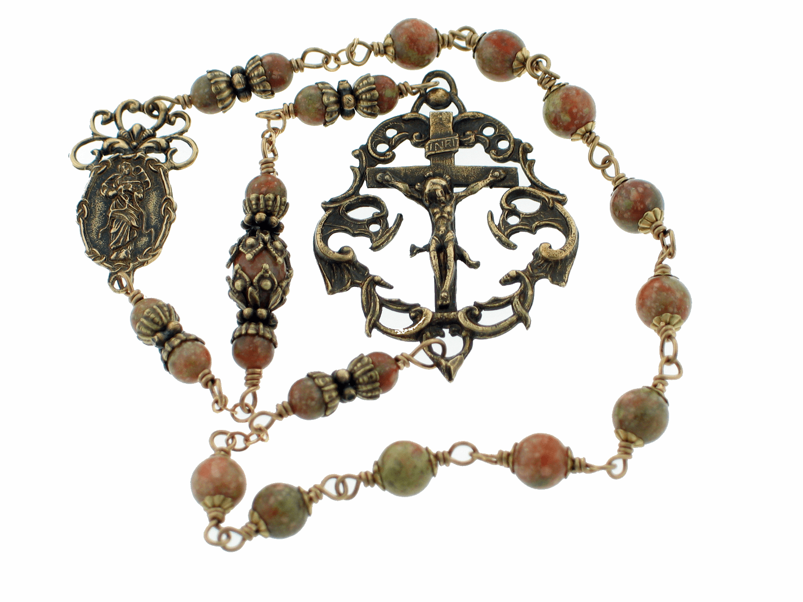 Our Lady of Undoer Knots Kant-Tangle Pocket Prayer Rosary