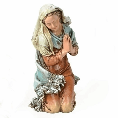 Painted Mary 27 inch Scale Christmas Nativity Set Figure by Joseph Studio