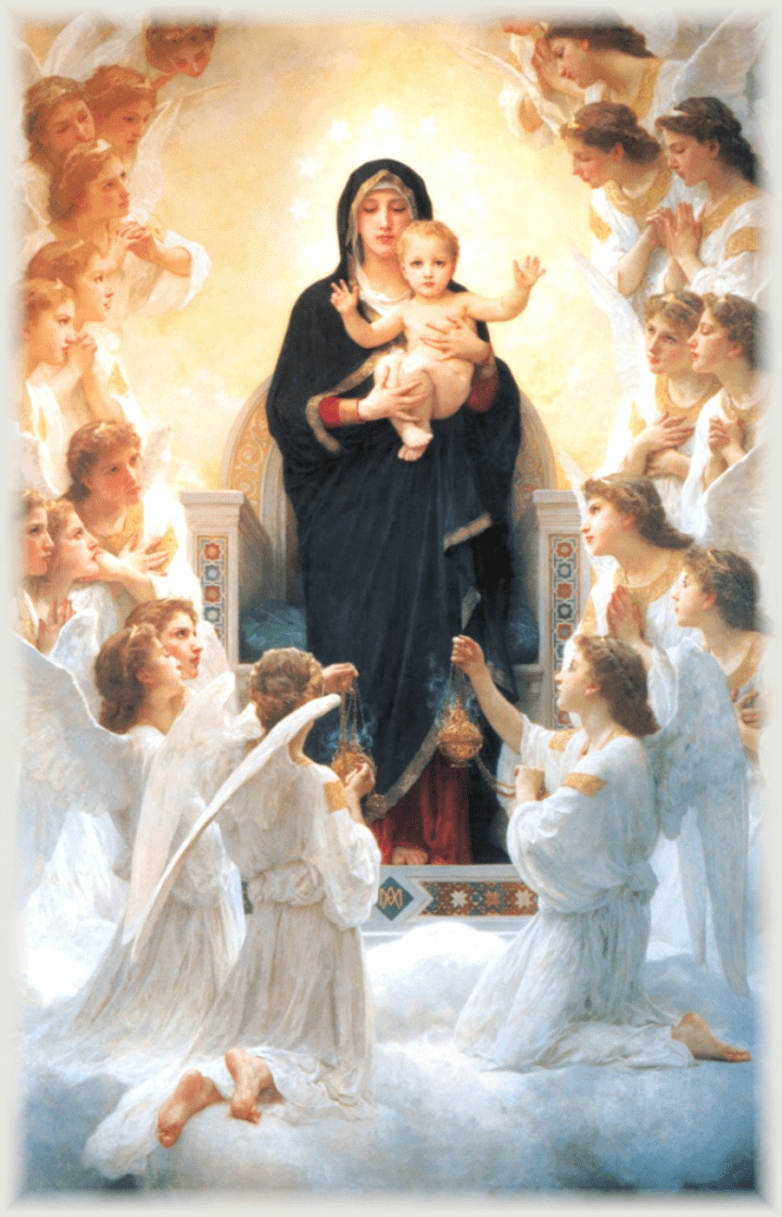 Prayer to Mary Mistress of the Angels