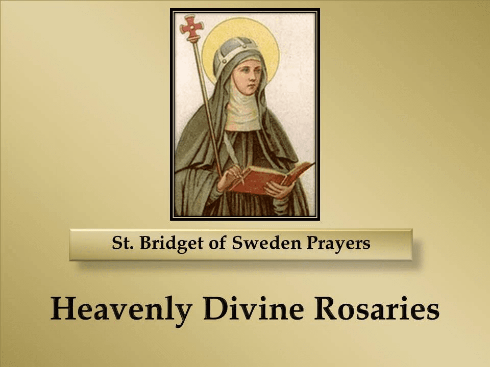 Prayers of St. Bridget of Sweden