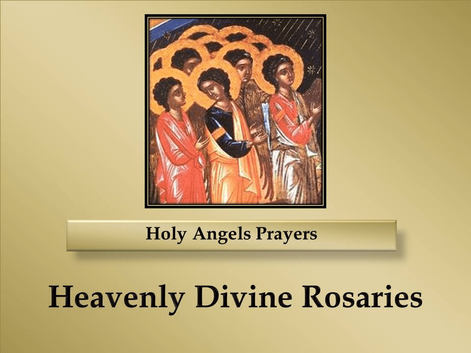 Prayers to the Holy Angels