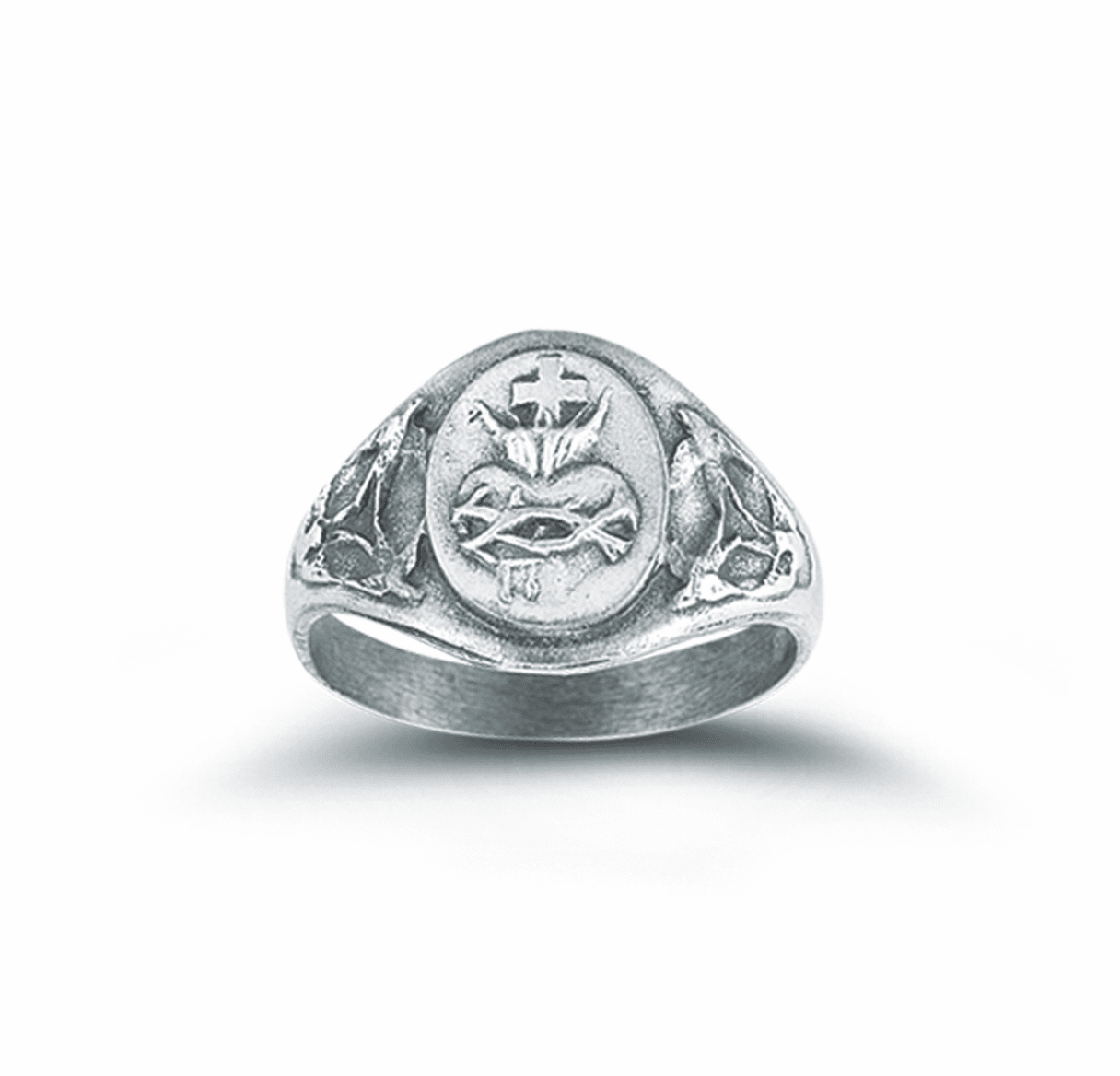 Risen Christ Sacred Heart of Jesus Ring