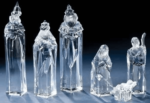 Roman Acrylic Nativity Sets