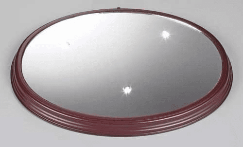 Roman LED Mirror 14.25 X 11.25 Bases for Acrylic Figures