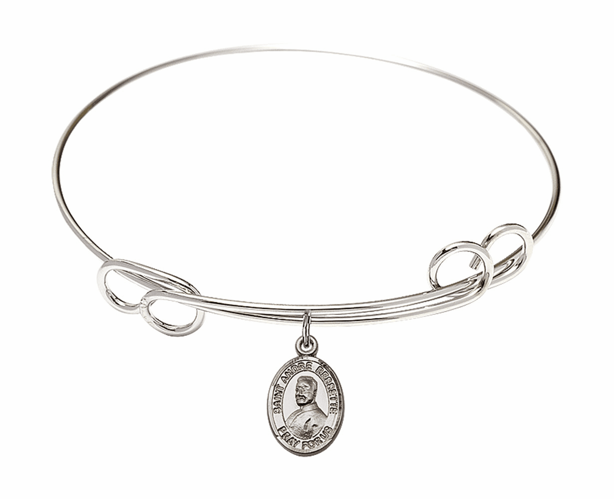 Round Loop St Andre Bessette Bangle Charm Bracelet by Bliss