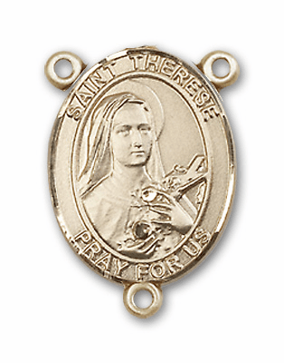 S-T Female Patron Saint Rosary Center Parts and Supplies