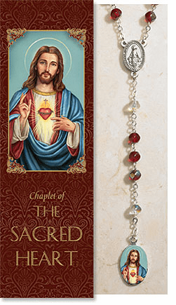 Sacred Heart of Jesus Catholic Prayer Chaplet Sets 3ct by Milagros