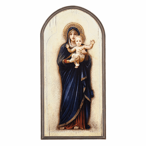 Sacred Traditions Marco Sevelli Madonna & Child Arched Plaque