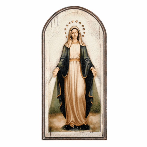 Sacred Traditions Marco Sevelli Our Lady of Grace Arched Plaque