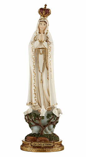 "Sacred Traditions Our Lady of Fatima 12"" Catholic Statue"