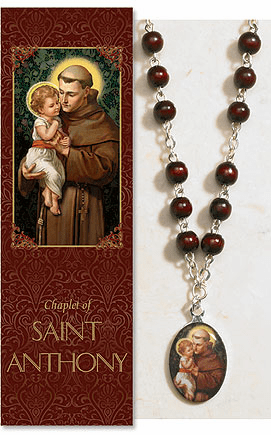 Saint Anthony Catholic Prayer Chaplet Sets 3ct by Milagros