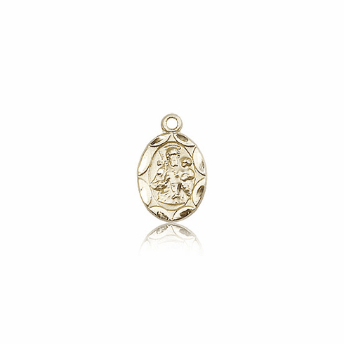 Bliss Mfg Infant/Baby Joseph 14kt Gold Medal Pendant
