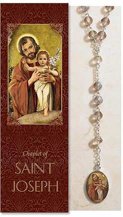 Saint Joseph Catholic Prayer Chaplet Sets 3ct by Milagros