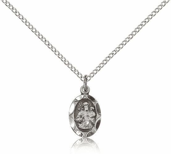 Saint Joseph Sterling Silver Pendant by Bliss