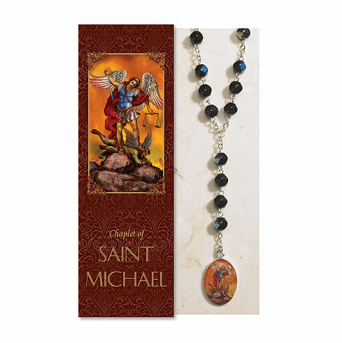 Saint Michael Catholic Prayer Chaplet Sets 3ct by Milagros