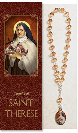 Saint Therese Catholic Prayer Chaplet Sets 3ct by Milagros