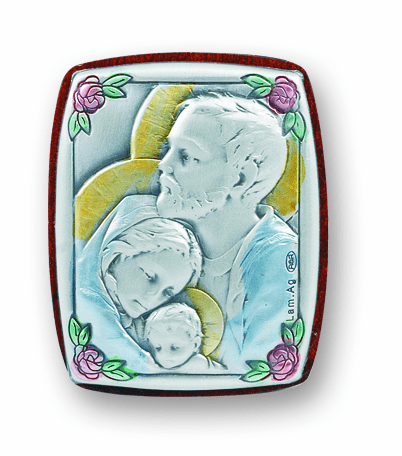 Salerni Holy Family Small Plaque