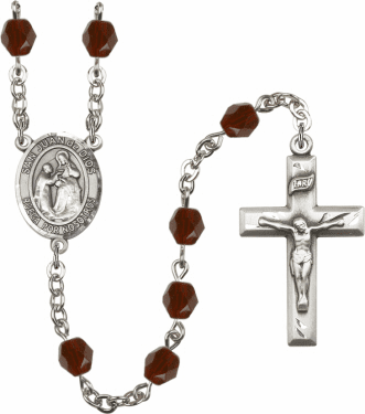 San Juan de Dios Birthstone Crystal Rosary by Bliss - More Colors