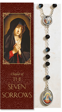 Seven Sorrows Catholic Prayer Chaplet Sets 3ct by Milagros