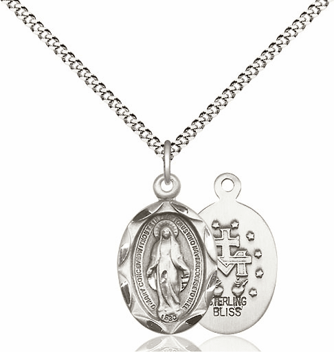 Miraculous Medal Silver-filled & Silver-Plated Jewelry