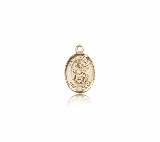 Small 14kt Gold St. James the Greater Medal