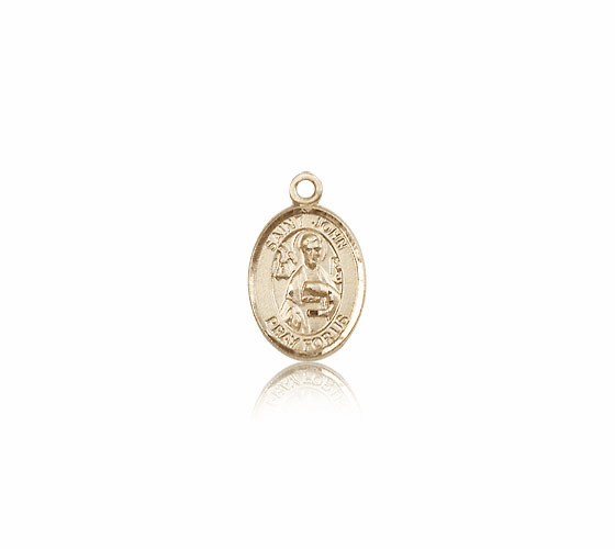 Small 14kt Gold St. John the Apostle Medal