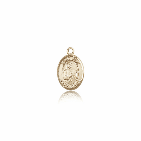 Small 14kt Gold St. Jude Thaddeus Medals