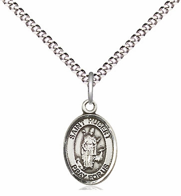 Small Charm Patron Saint Pewter Patron Saint Necklace by Bliss