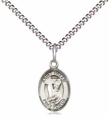 Small Charm Patron Saint Sterling Pendant Necklace by Bliss