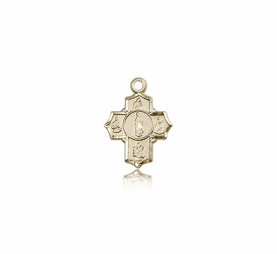 Small Motherhood 5-Way Cross Pendant by Bliss Manufacturing