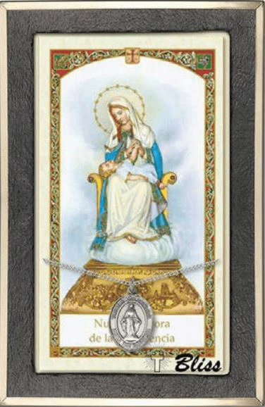 Spanish Patron Saint Medals & Prayer Card Sets