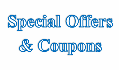 Special Offers & Coupons