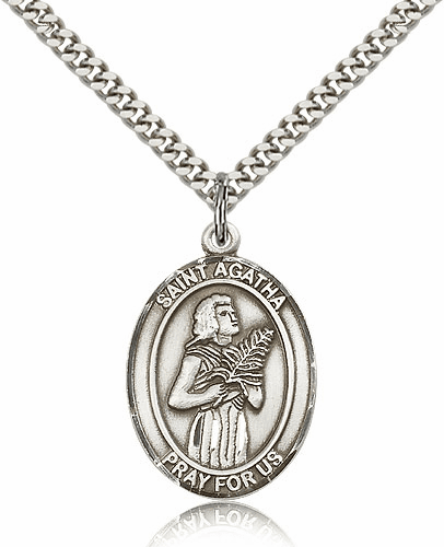St Agatha Medal Jewelry and Gifts