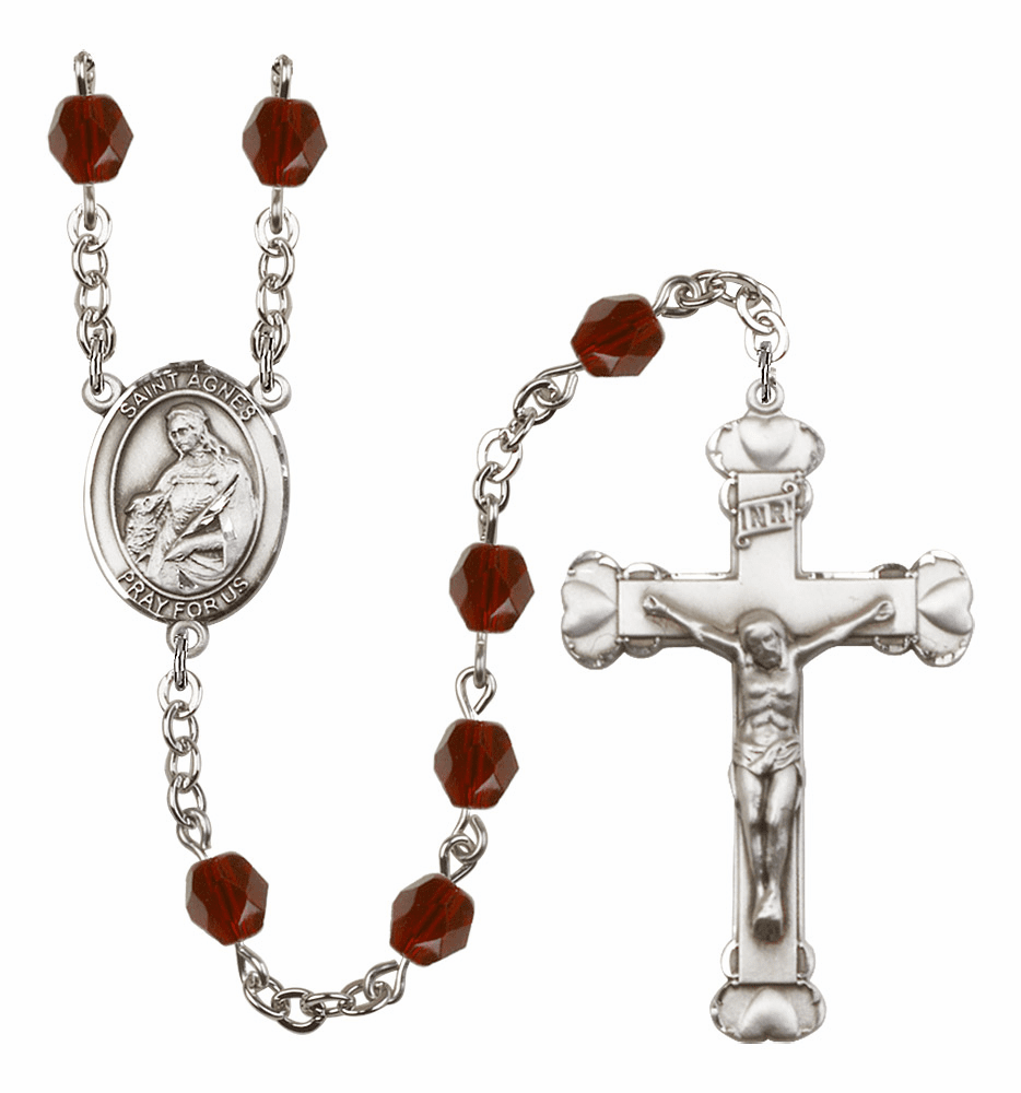 St Agnes of Rome Rosaries