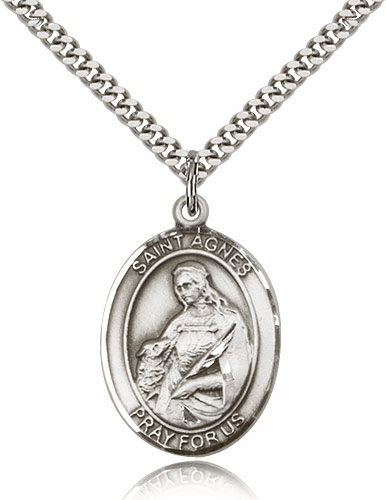 St Agnes of Rome Saint Medals & Gifts