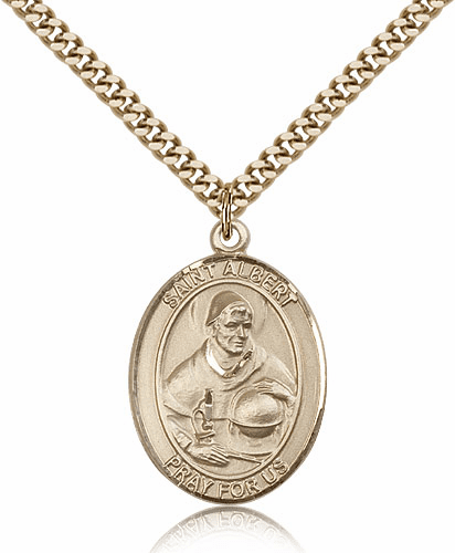 St Albert the Great Saint Medal by Bliss Manufacturing