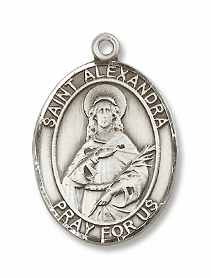 St Alexandra Patron Saint of Defender of Humanity Jewelry & Gifts