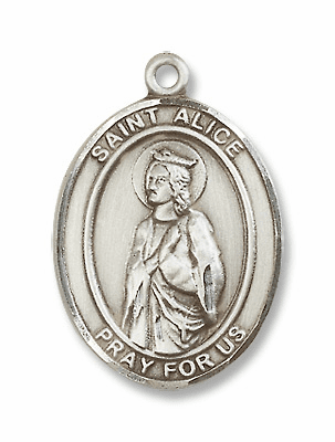 St Alice Patron of Blindness and Paralyzed Jewelry & Gifts