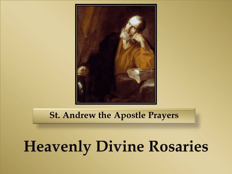 St. Andrew the Apostle Prayers