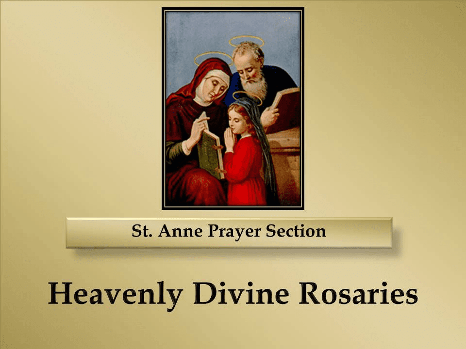 St. Anne Prayer Section