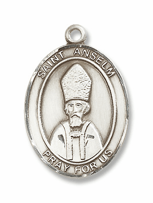 St Anselm of Canterbury Patron Saint of Benedictine Monk, Philosopher Jewelry & Gifts